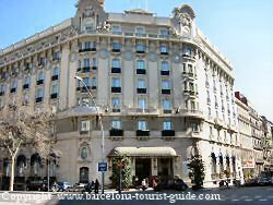 Palace hotel review by barcelona tourist guide - Hotel palace de barcelona ...