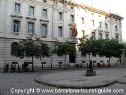 The area around Hotel Santa Marta Barcelona