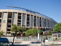 Camp Nou near the Hotel Senator Barcelona