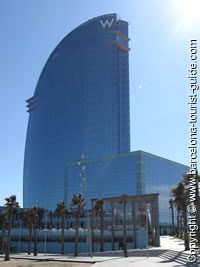 W Hotel Review By Barcelona Tourist Guide