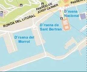 Alcanar Spain Map.Barcelona Street Map