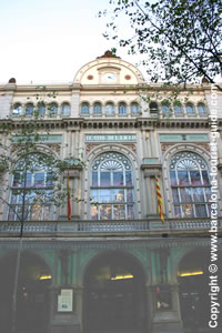 Opera Venue: The façade of the Gran Teatre del Liceu