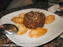 Paul's recommendation - Tartare de Atun at Cal Pep's Restaurant