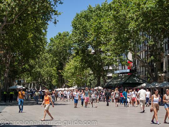 Barcelone guide des ramblas for Ramblas barcellona