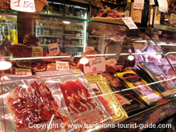 A Typical Selection of Cured Meats