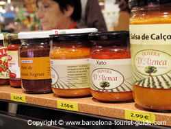 Typical Catalan Salsas