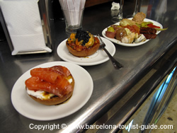 A selection of tapas