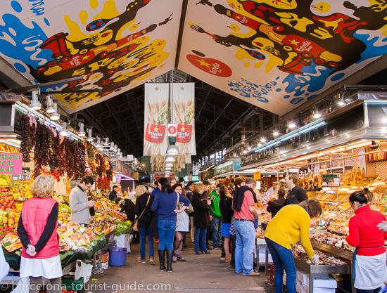 La Boqueria Market| Las Ramblas Market in Barcelona