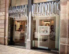 Swarovski Shops In Barcelona Spain