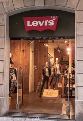 a basso prezzo 89a9a 0f9b5 Levi Shops in Barcelona, Spain