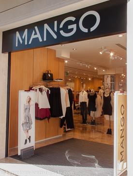 Tienda Mango en Porta del Angel en Barcelona bf94f14e529
