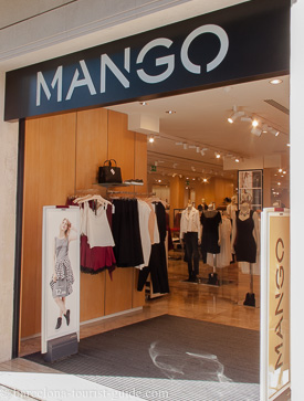 Mango Shops In Barcelona Catalunya Spain