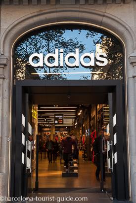 Adidas Shops In Barcelona Spain