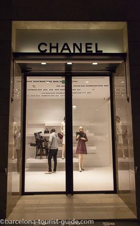 c09a12819 Chanel Shop in Barcelona, Catalunya, Spain