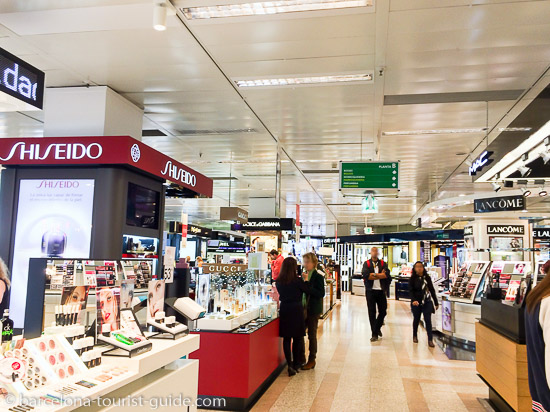 cosmetics shopping in Barcelona