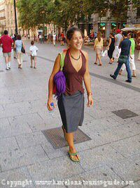 Barcelona clothes and dress code - Forlady barcelona ...