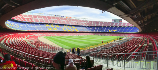 Estádio Camp Nou do Barcelona FC