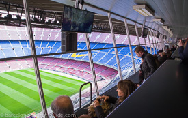 Sit in the VIP chairs at Camp Nou