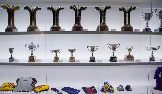 One of the many Trophy Cabinets