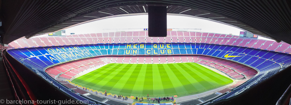 barcelona football stadium Camp Nou