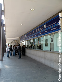 The Ticket Office at Camp Nou