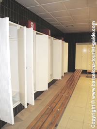 Visitor's Changing Room Lockers
