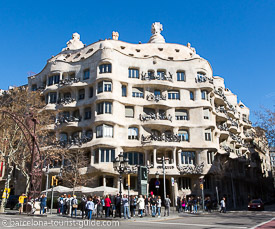 Click to see a photo guide of La Pedrera (Casa Mila) by Antonio Gaudí
