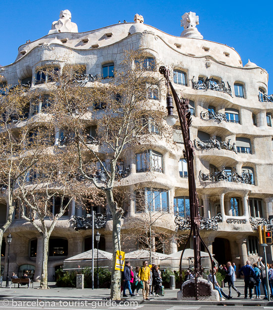 La Pedrera on Passeig de Gracia