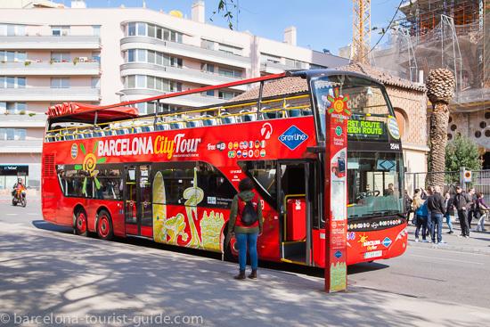 Автобус Barcelona Tours