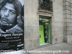 Barcelona cultural tourist office on the Ramblas.