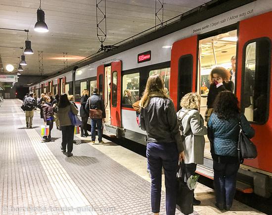 Система метро в Барселоне