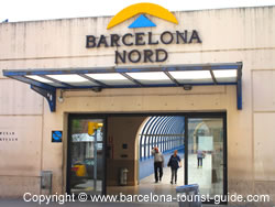 The Entrance to Estació Nord Barcelona Bus Station