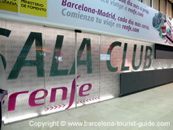 Entrada do AVE Club Lounge (Sala Club)
