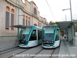 Tram transport in barcelona spain visitor 39 s guide on how for How much does a hillside tram cost