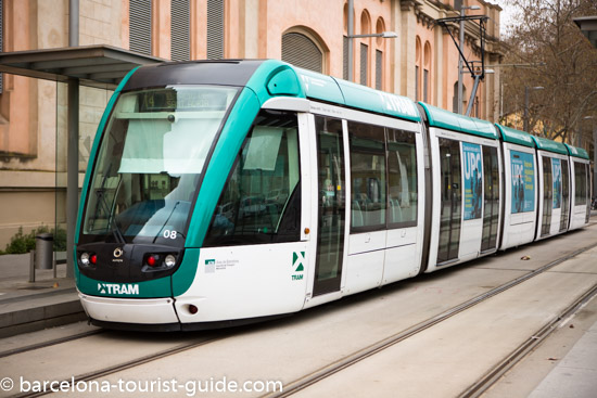 Tram Transport in Barcelona, Spain: Visitor's Guide On How