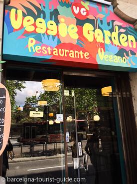 Veggie Garden Vegan Restaurant Barcelona