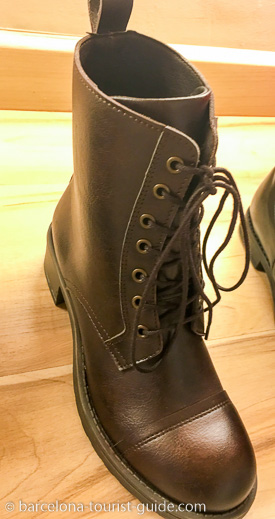 Bottines féminines vegan